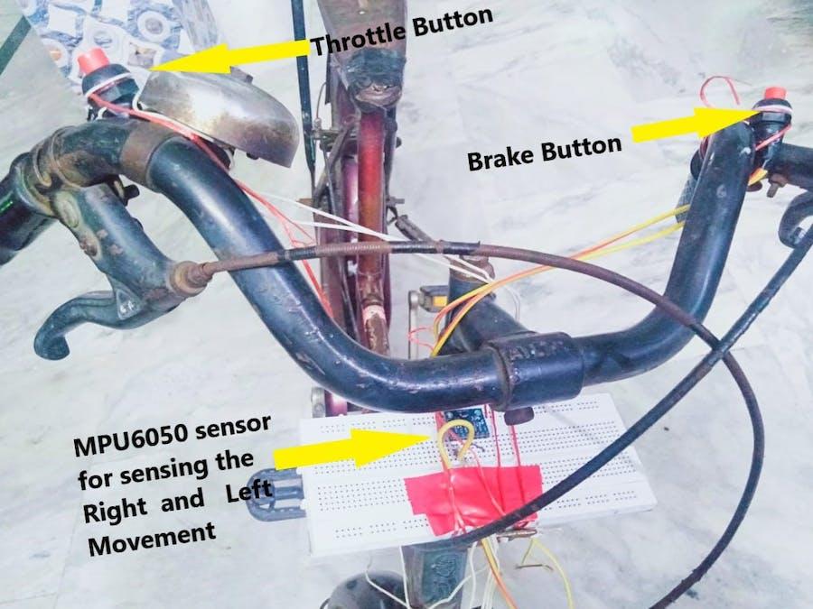Control games using arduino, mpu6050 and python