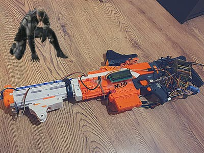 SOP System - Metal Gear Solid inspired Nerf Project
