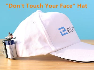 """Don't Touch Your Face"" Hat"