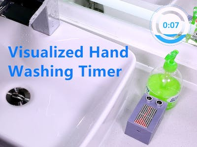 Visualized Hand Washing Timer