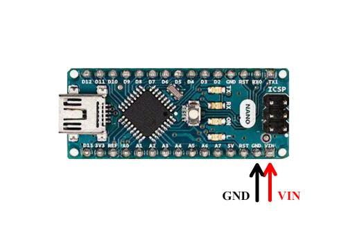 Arduino Nano - VIN and GND pins