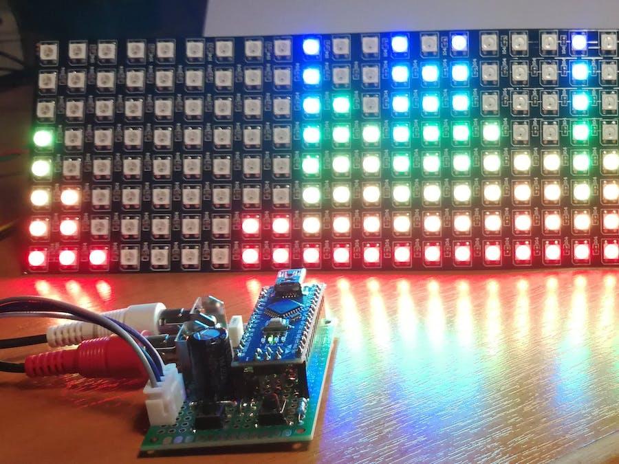 FHT Audio Spectrum Visualizer