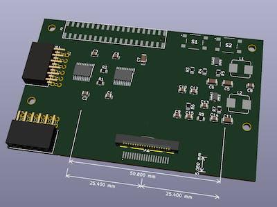 Ultra96V2 Breakout for Pmod & SYZYGY