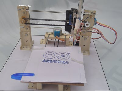 GRBL Based DIY Drawing Machine
