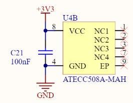 From Arduino MKR 1010 Schematic