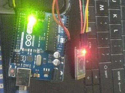 Blink LED via Mobile Bluetooth