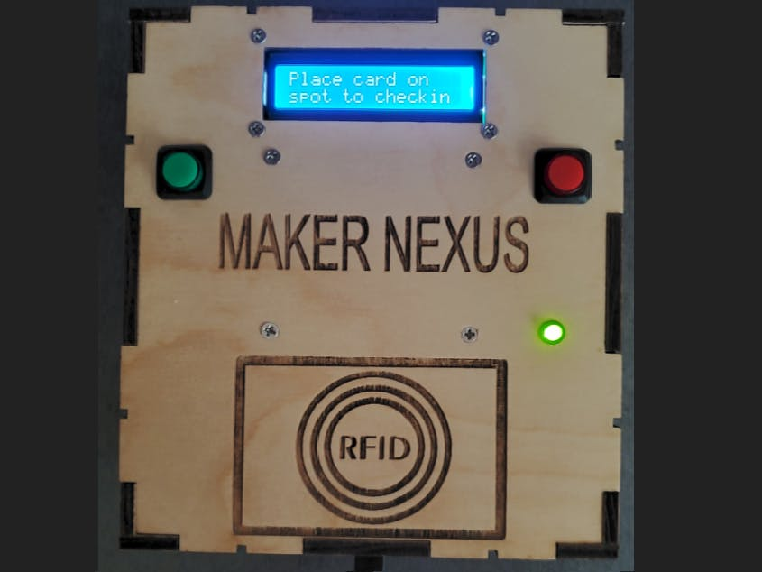 Particle-based RFID Access Control System