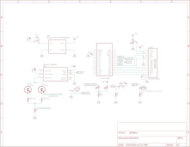 Schematic for BrillBox