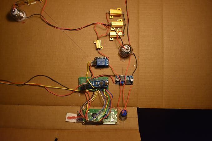 Above shows all the electronics needed to use BrillBox (minus a reed switch)