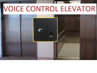 Voice control elevator with Raspi