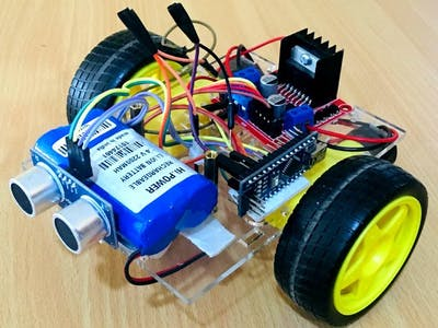 Obstacle Avoiding Robot using Arduino and Ultrasonic Sensor