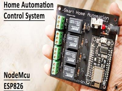 Home Automation Control System NodeMcu ESP8266