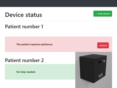 PAAS - Patients' Assistance Alert System