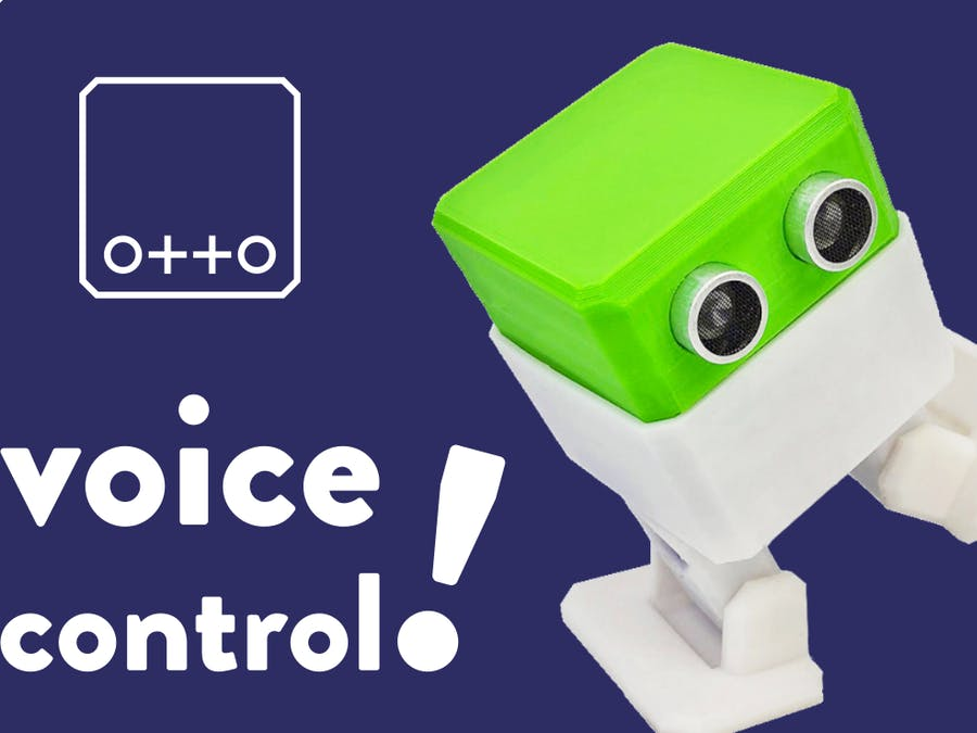 Voice recognition with Otto DIY Robot