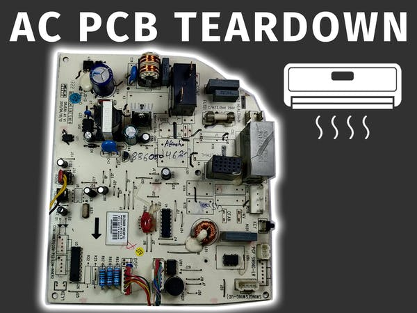 Air Conditioner Pcb Tutorial With Its Working And Repair Arduino Project Hub