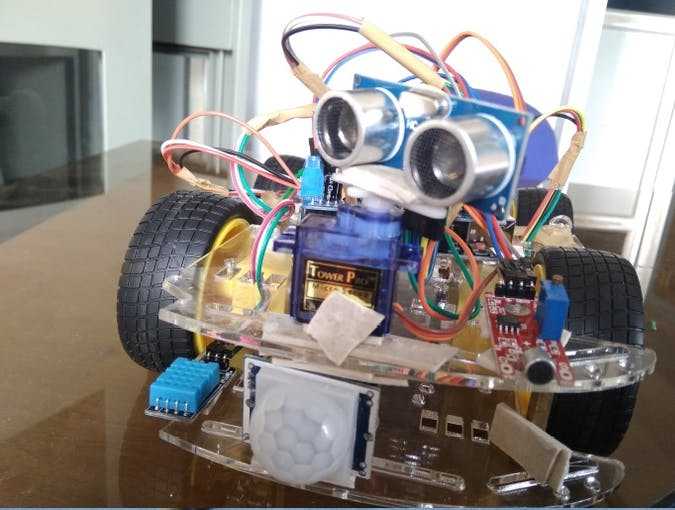 Overview of the Robotic Vehicle