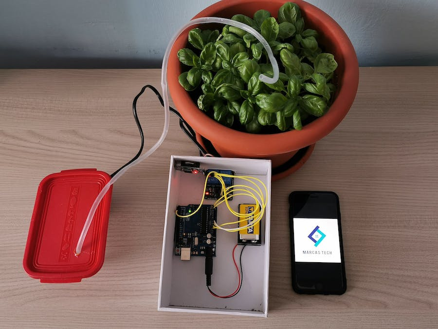 Programmable Irrigation System with Arduino