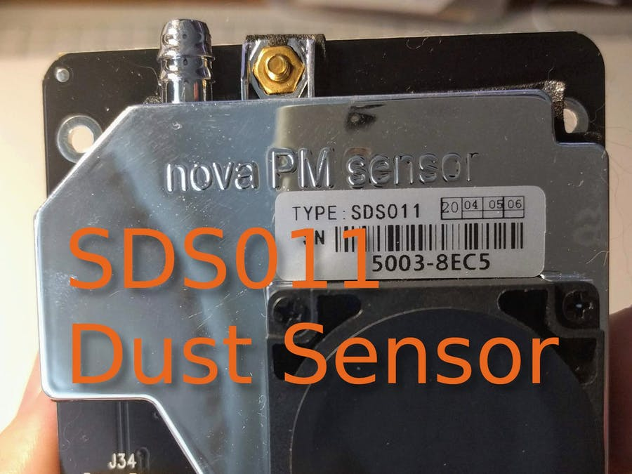 Using SDS011 Dust Sensor