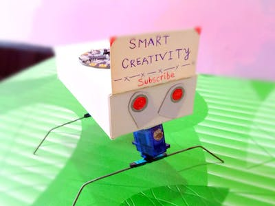 How to make spider walking robot at home || #smartcreativity