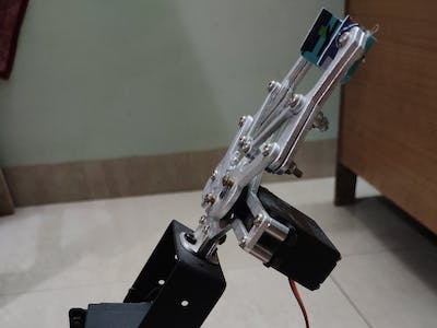 Autonomous Chess Playing Robotic Arm