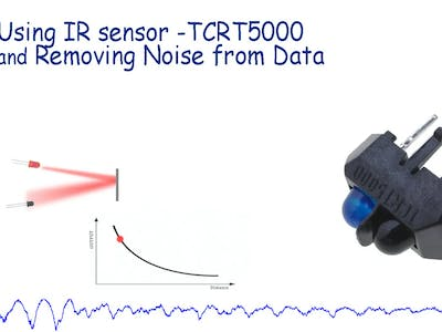 Using IR Sensor (TCRT 5000) With Arduino