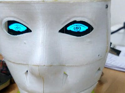 Object Recognising AI Humaniod Robot