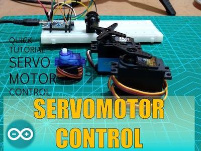 High torque servo motor control