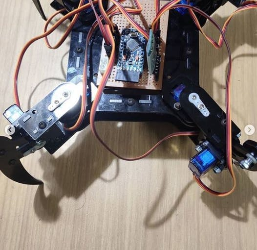 Upper part of the Robot