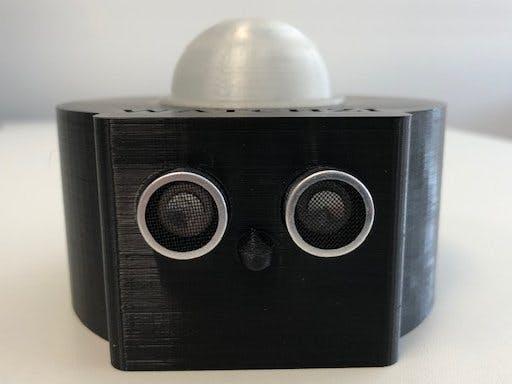 COVID-19 Simple Friendly Social Distance Robot Watchzi