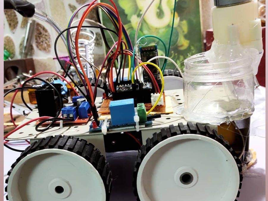 Floor Cleaning Robot