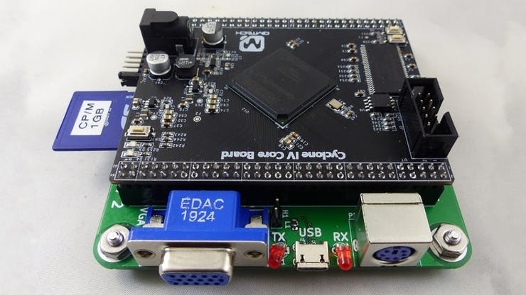 Land Boards Retro Ep4ce15 Gets A Classic Motorola 68000 System Tiny Basic On Its Fpga Hackster Io