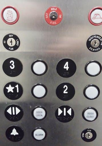 Simple Elevator Interface