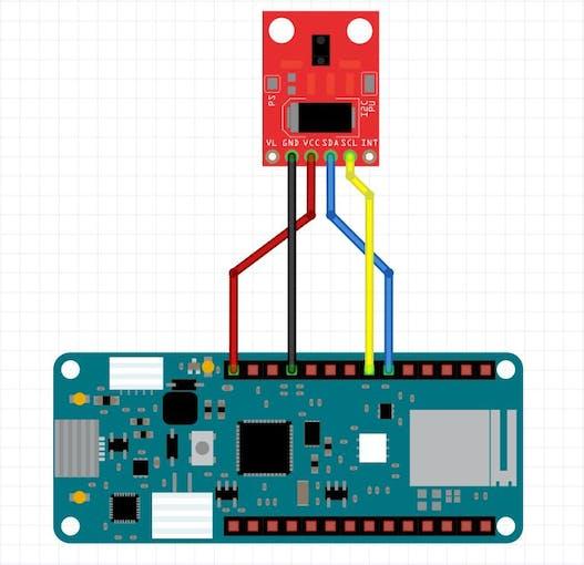 Arduino to Gesture Sensor