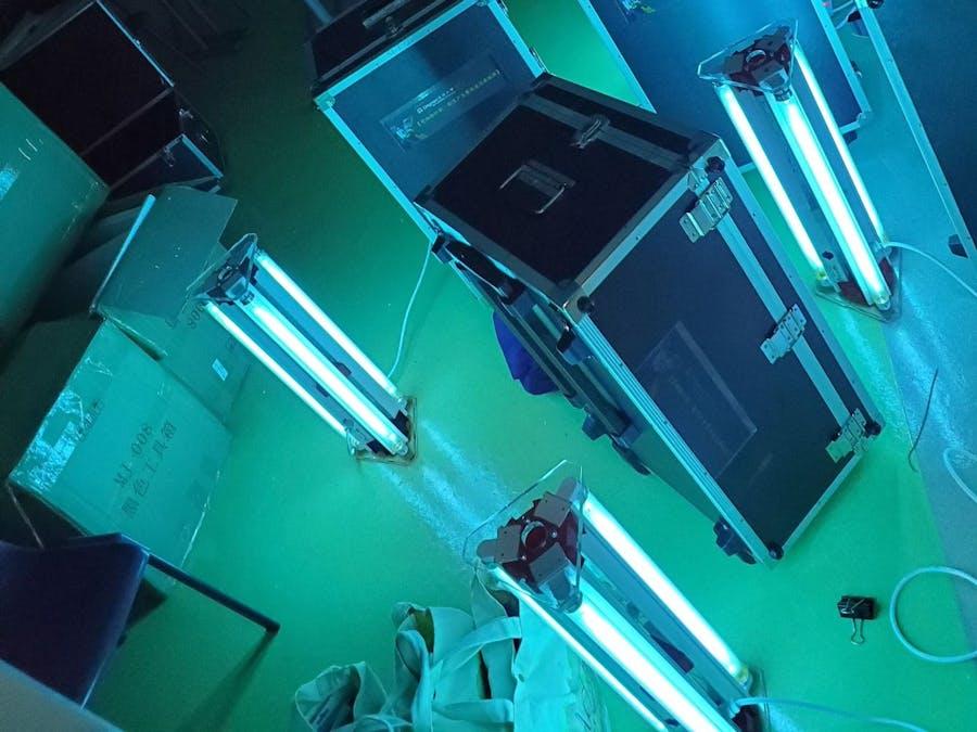 Project Ultra-Violite UV-C Disinfection Light