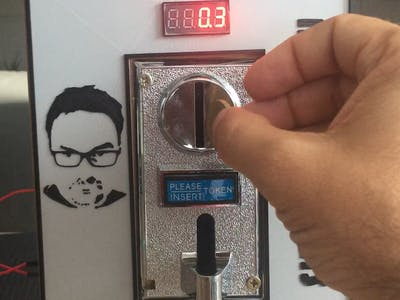 Control Coin Acceptor with Arduino