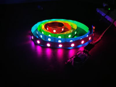 DIY Music Relative RGB Strip light