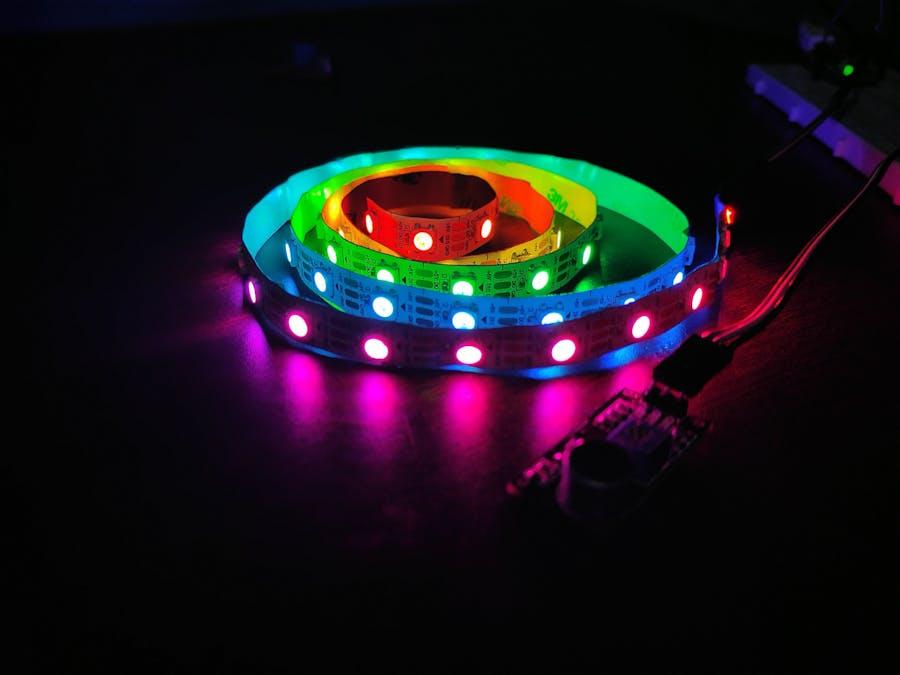 DIY Music Relative RGB Strip light