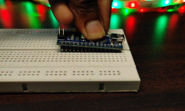 Fix Arduino In Breadboard