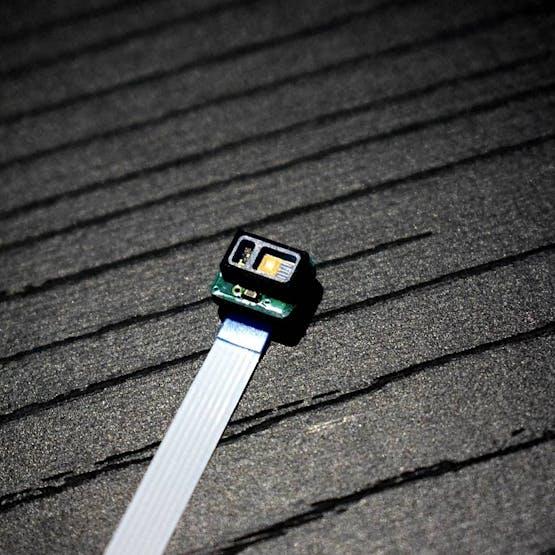 Pulse oximeter sensor.