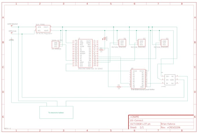 Circuit schematic. Full schematic available in attachment section