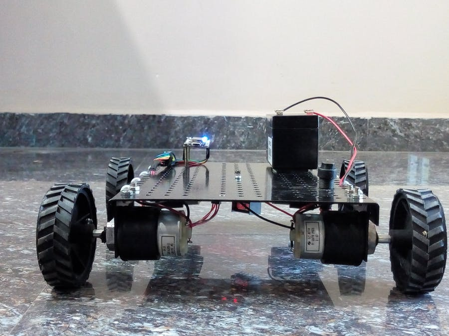 IoT Based Android phone accelerometer controlled robot