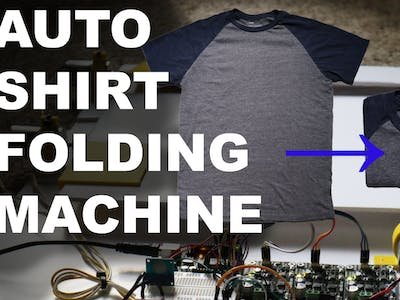 Automatic Shirt Folding Machine