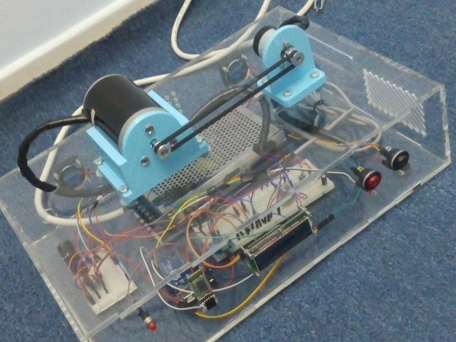 PID Speed Controller for DC Motor