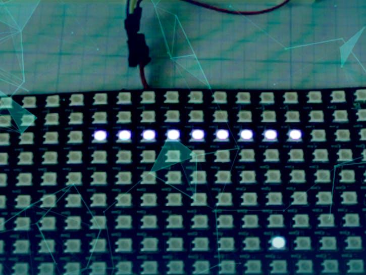 Snake LED 16x16 matrix game