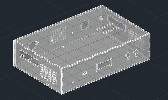 2D part : box.