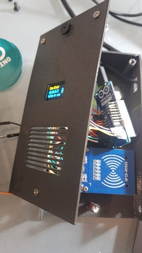 Old Nano replaced by Arduino MKR 1010 Wifi :)