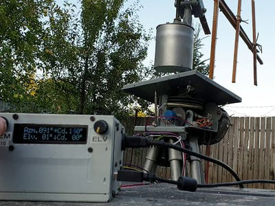 Arduino UNO Antenna Rotator