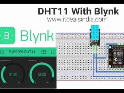 Easy DHT With Blynk