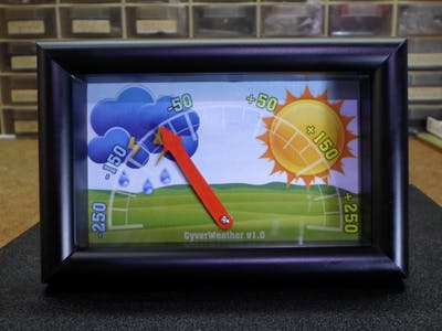 DIY Simple Weather Forecast Device