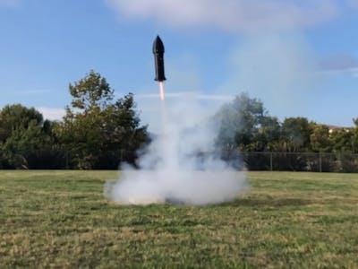 Frontier V2 TVC Rocket!